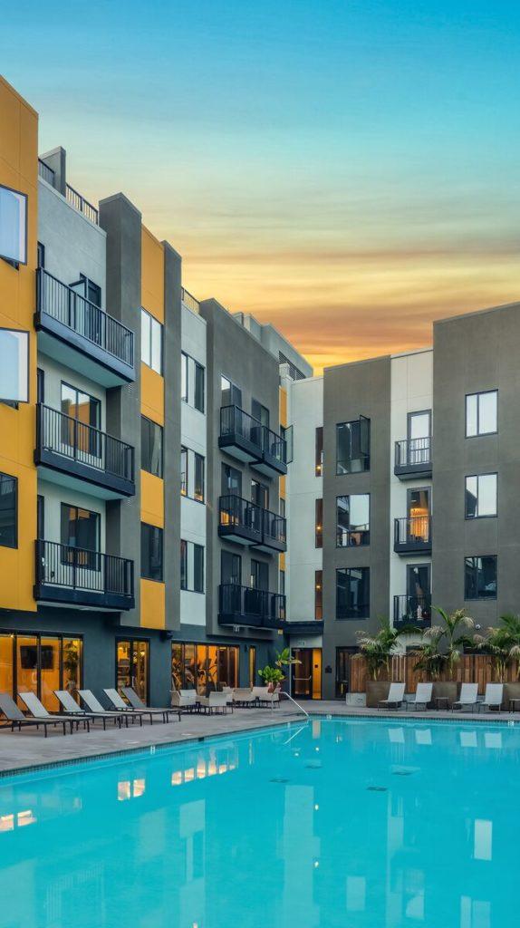 The residences at Santana Row